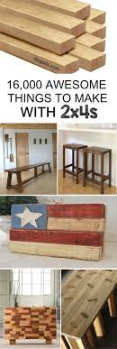 diy wood furniture projects. a diy collection of 2x4 wood crafts you can build with inexpensive 2 diy furniture projects