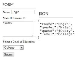 form to jquery serializeobject encode form elements as a json jquery plugins