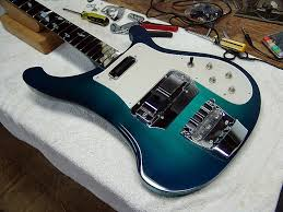 paul wilczynski studio california rickenbacker luthier new york aquabass