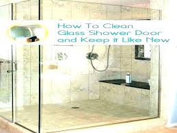 how to clean shower door soap s from doors bathroom glass home remodeling with wd40