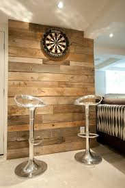 diy dart board wall made out of pallets