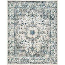 evoke gray ivory 9 ft x 12 ft area rug
