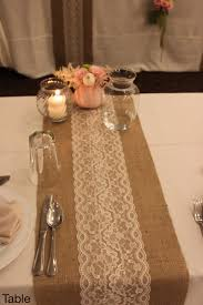 Diy Burlap Table Runner Q No Sew Kidaz