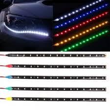3Meter Flexible Neon Strip Led <b>Car Interior</b> Lights Trim El Cold Light ...