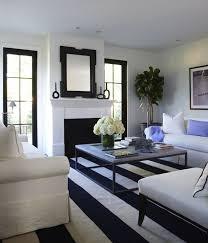 white and navy blue striped rug transitional living light blue rug living room