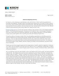 com koch industries statement on clemency