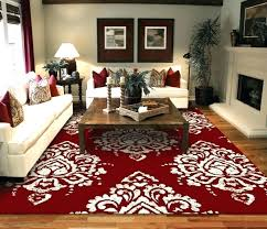 red and black area rug 5x7 rugs s