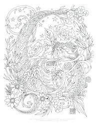 Printable Complex Coloring Pages Complex Coloring Page Complex