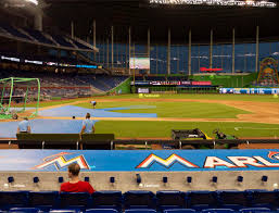 Marlins Stadium Seating Chart Marlins Park Section 9 Seat Views Seatgeek