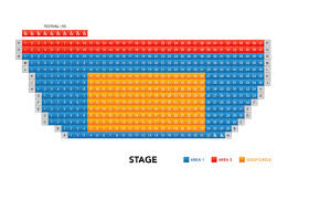 La Jolla Playhouse Seating Chart Theatre In San Diego