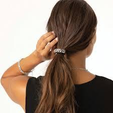 one love ponytail holder in