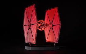 <b>Star Wars LED</b> Lamps - <b>3D</b> Illusions - Touch of Modern