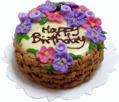 Happy Birthday Cake Flowersbasket Bdlk1477 1475 Miniature