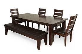 Ashley Kitchen Furniture Ashley Larchmont Six Piece Dining Set Mathis Brothers Furniture