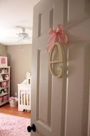 Baby Monogram Wall Decor 17 Best Ideas About Nursery Monogram On Pinterest Flower Letters