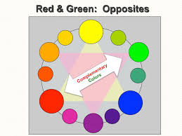 my almost annual red and green complementary color essay red and  complementary color pair