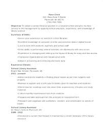 School Librarian Resume Cool Sample School Librarian Resume Librarian Resume Sample Resume