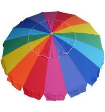 Image Outdoor Rainbow Beach Umbrella 230cm Brisbane Outdoor Furniture And Bbqs Rainbow Beach Umbrella 230cm Bayside Bbqs And Outdoor Centre