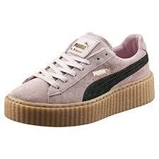 Puma Shoes Rihanna Pink Fenty Amazoncom Puma Suede Creepers Womens Sz 75 Pink Fenty By Rihanna 361005 04