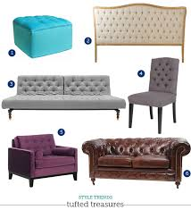 tufted furniture trend. tufted furniture trend dezignable