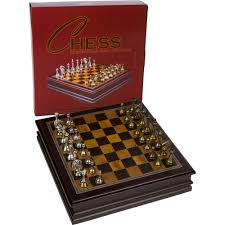 Board Games In Wooden Box Amazon Grace Chess Inlaid Wood Board Game with Metal Pieces 73