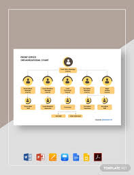 Free Front Office Organizational Chart Template Word