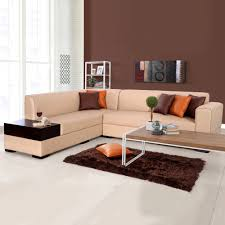 l shape furniture. Fine Shape L Shaped SofasEVOKAlden Leatherette LShape Sofa Left  Light Brown And Shape Furniture E