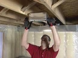 install ceiling register boot