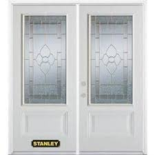 prefinished entry doors. pre-finished oak fiberglass double doors star oval #60 - another great front entry door deal from clearance center | beautiful discount prefinished y