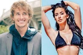 German model Brenda Patea confirms dating tennis ace Alexander Zverev