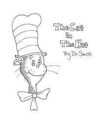 Small Picture cat in the hat coloring pages preschool printables valentine
