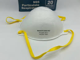 <b>Makrite N95</b>-9500-<b>Niosh</b> Approved-20 per box – JPR Medical LLC