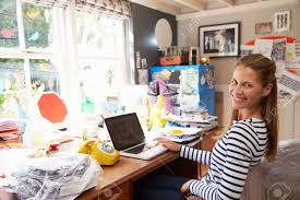 running home office. wonderful home woman on laptop running business from home office stock photo  41393077 in 123rf photos