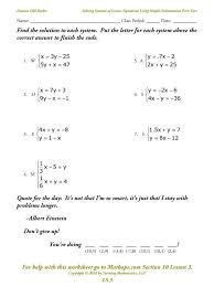 solving equations worksheets : polskidzien