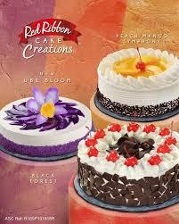 Red Ribbon Cake Creations Ube Bloom Cake Moomy Musings