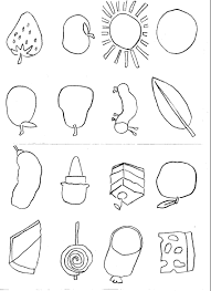 Very Hungry Caterpillar Coloring Pages In The The Very Hungry