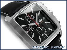 g supply rakuten global market casio not released casio not released overseas model edifice analog chronograph mens watch square case black dial