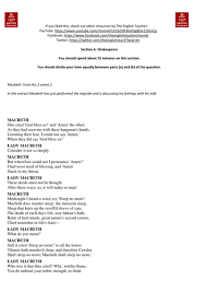 english literature romeo juliet example exam essay response new  macbeth exam questions