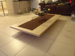 Floating Coffee Table Modern Natural Wood Coffee Table Rotsen Furniture Floating Slab