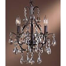 minka lavery 3122 301 castlewood walnut 3 light 1 tier mini crystal chandelier from the mini chandeliers collection faucetdirect com