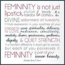 Femininity is still beautiful | ❥ Beautiful Truth | Self Esteem ...