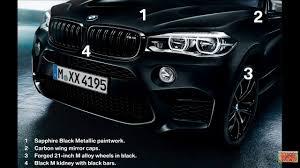 BMW Convertible bmw x5 m edition : BMW X5M & X6M Black Fire Edition - YouTube