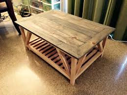 stacked coffee table