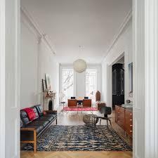 brooklyn brownstone scandinavian living room