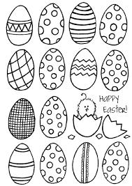 Blank Easter Egg Templates Printable Shelter