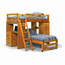 E Bunk Bed Desk Combo Canada Unique Beds For Kids In Decent Light Brown  Wooden With Stairs