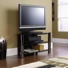 Tv Stand Black Chroma Panel Tv Stand 409929 Sauder