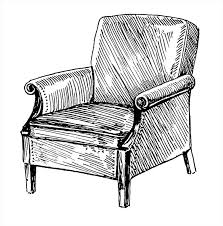 comfy chair drawing ARCHDSGN