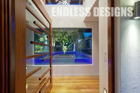 endless design options with timber pivot doors