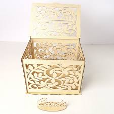 drawing writing boards wedding card box with lock diy money wooden gift boxes for birthday